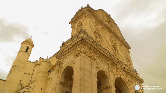 Fachada de la Catedral de Sassari