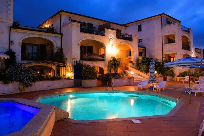 Hotel Residence Riva Azzurra en la Costa Esmeralda
