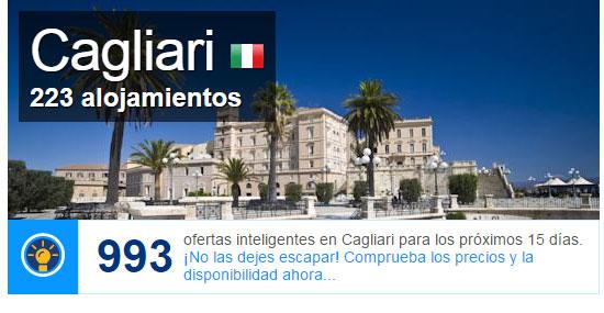 Alojamiento y hoteles en Cagliari, Cerdeña