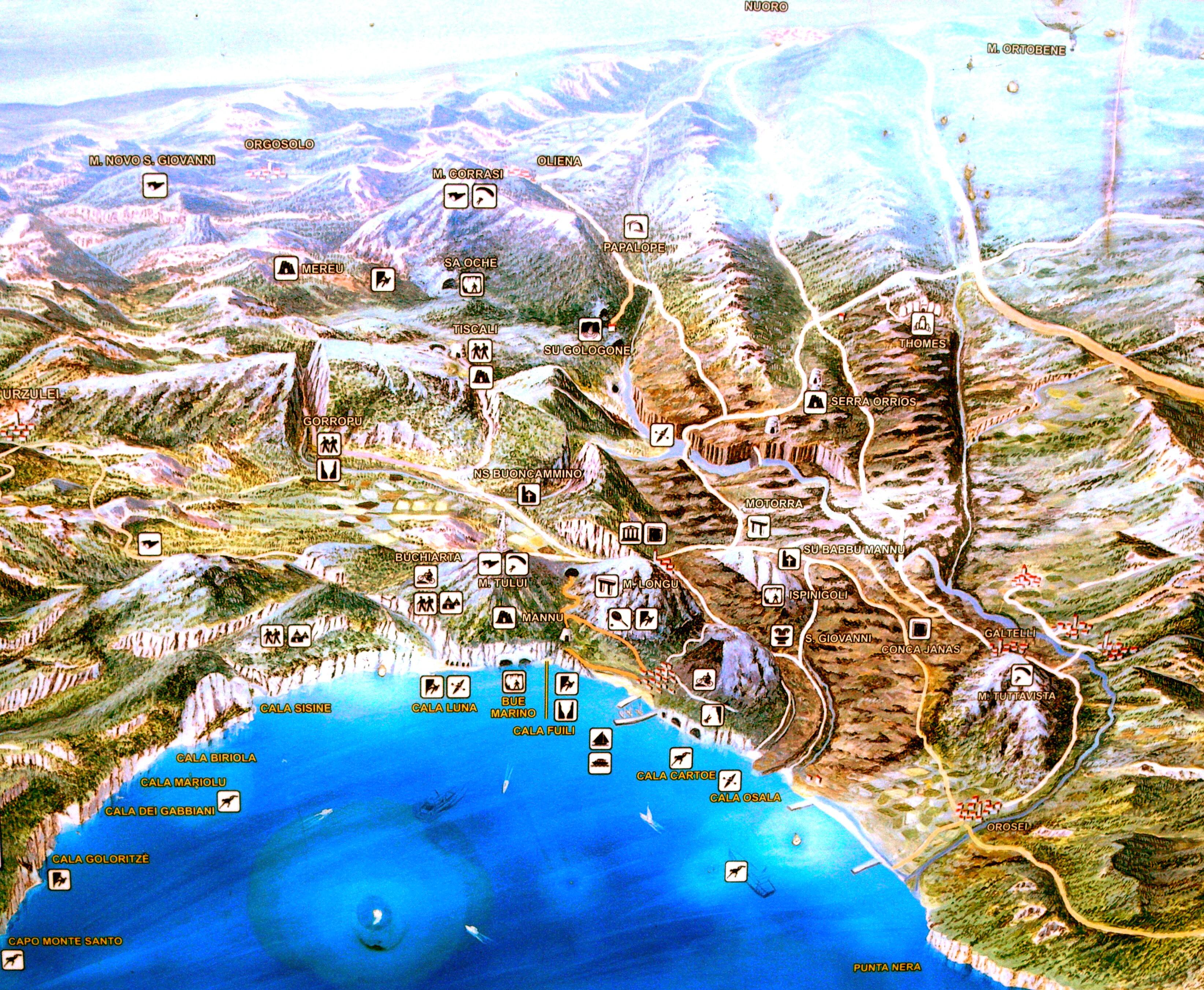 Cala Gonone Italy  city images : ... parque museo s abba frisca cala luna excursión en barco cala