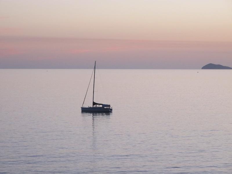 Viaje en velero por Cerdeña