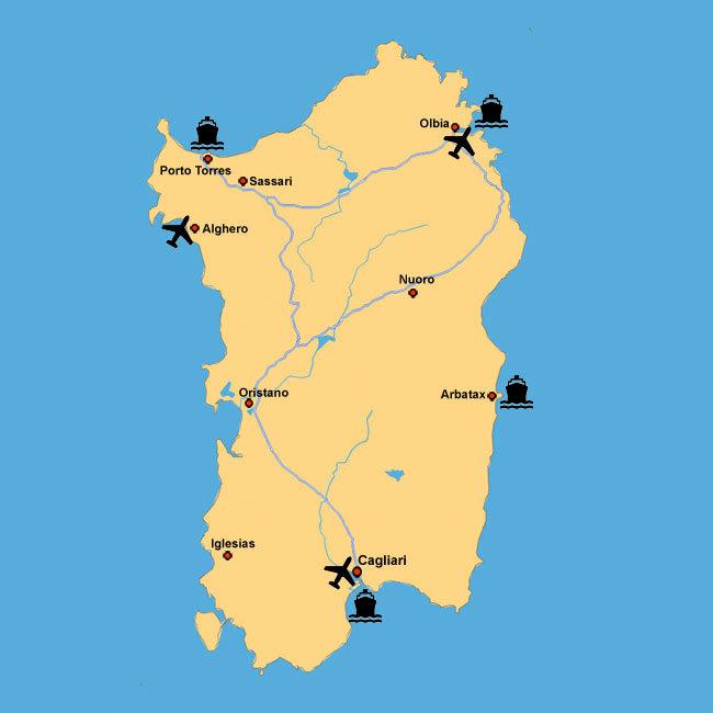 Aeropuertos de Cerdeña – Como llegar en avión