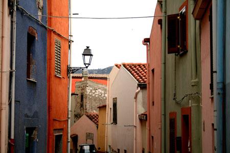 Casas de colores de Bosa