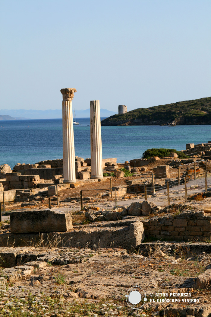 Restos fenicios - romanos de Tharros