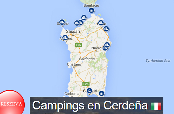 Campings de Cerdeña
