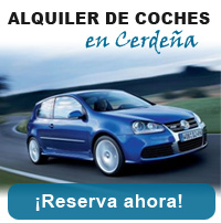Alquiler de coche en Cerdeña