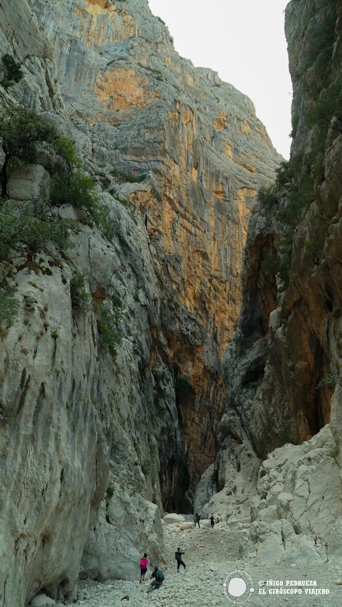 Gargantas del cañón de Gorropu