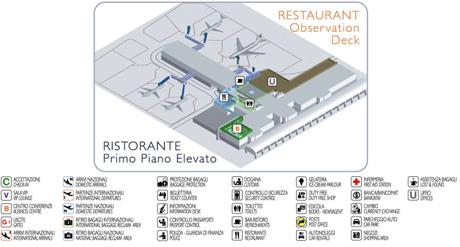 Primera planta Aeropuerto de Cagliari