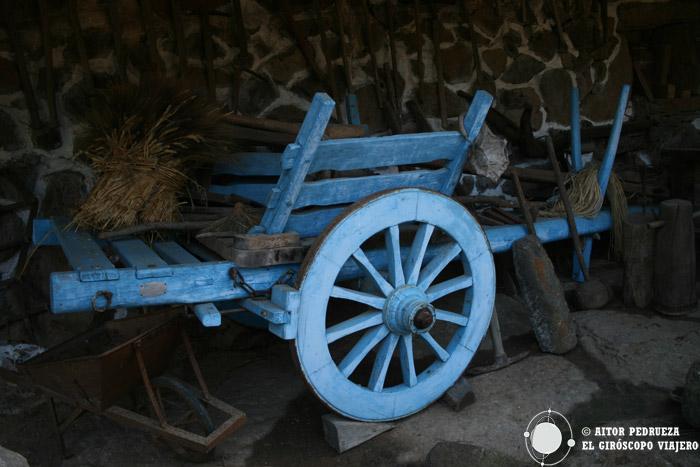 Carro conservado en el museo