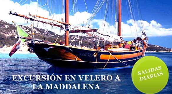 Excursión velero a la Maddalena