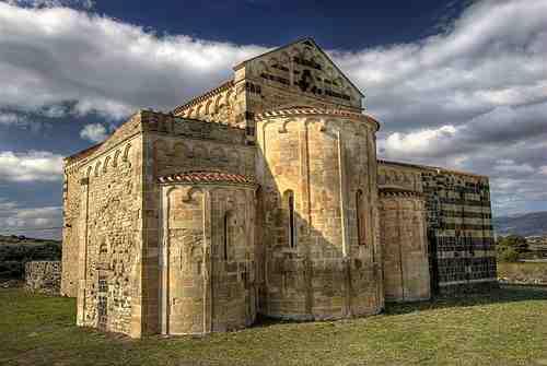 Orientación por iglesias románicas