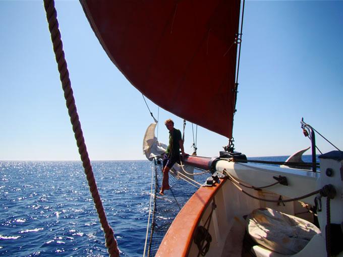 Excursión en barco a bordo de un velero