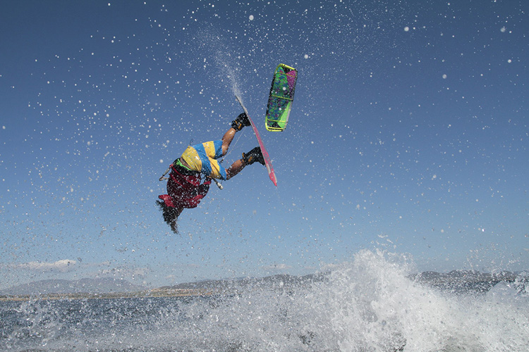 Cerdeña paraíso del kitesurf