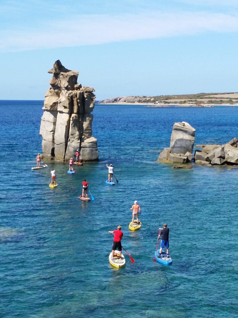 Paddle Surf en Carloforte