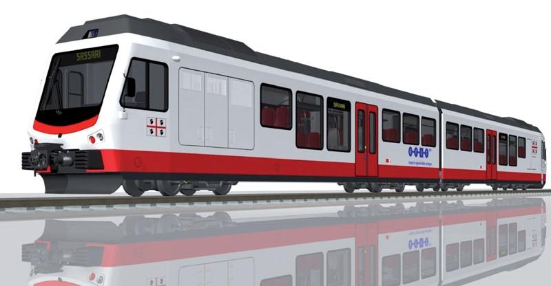 Trenes de Cerdeña