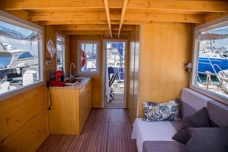Casa barco por dentro