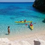Kayak en Cerdeña